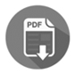 Gray pdf button